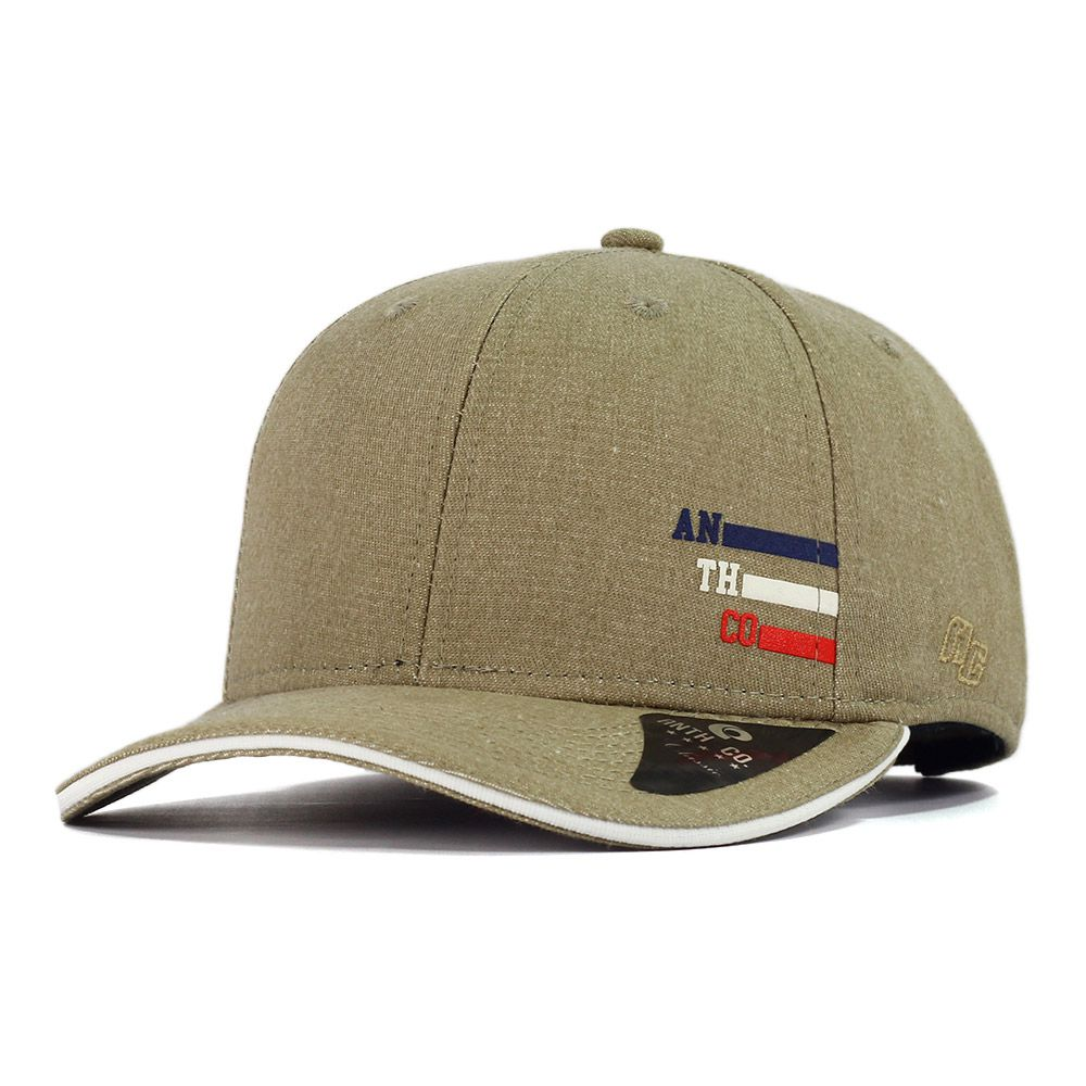 Boné Aba Curva Strapback Anth Co Cottom Caqui