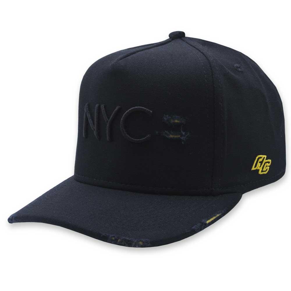 Boné Aba Curva StrapBack Anth Co NYC Bordado