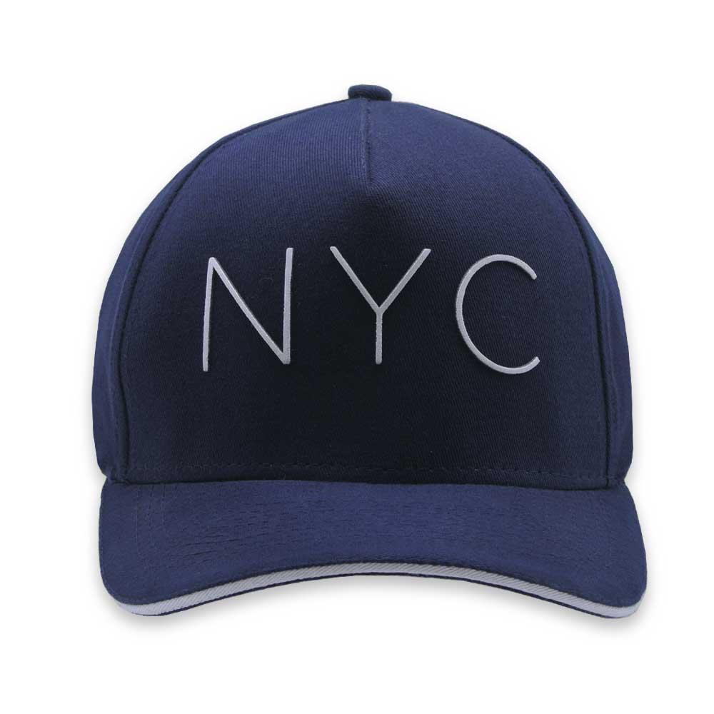 Boné Aba Curva StrapBack Lords NYC Azul Marinho