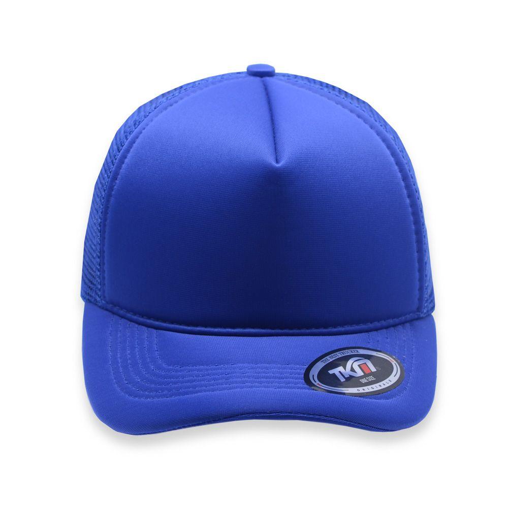 Boné Aba Curva TKN Trucker  Azul Royal