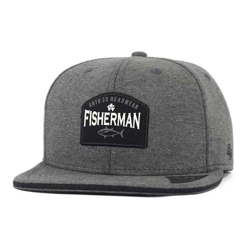 Boné Aba Reta SnapBack Anth Co Fisherman Chumbo