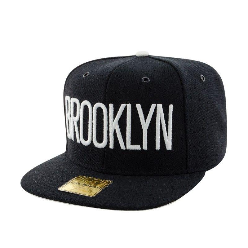 94b2709431d3e ... Boné Aba Reta Young Money Snapback Brooklyn 3D - BoneLand - Sua Loja de  Bonés On ...