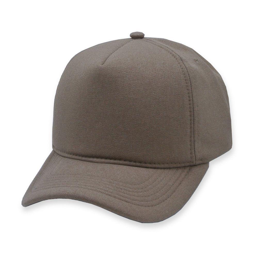 Boné Snapback Aba Curva Classic Hats Caramelo Liso