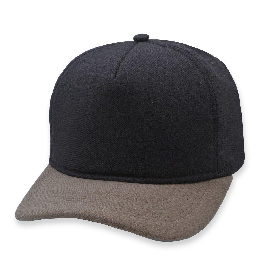 Boné Snapback Aba Curva Classic Hats Marrom e Caramelo