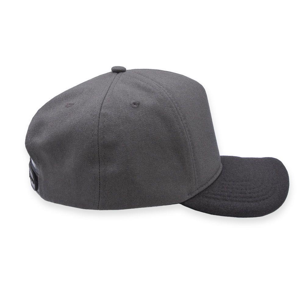 Boné Snapback Aba Curva Classic Hats Mescla Terra