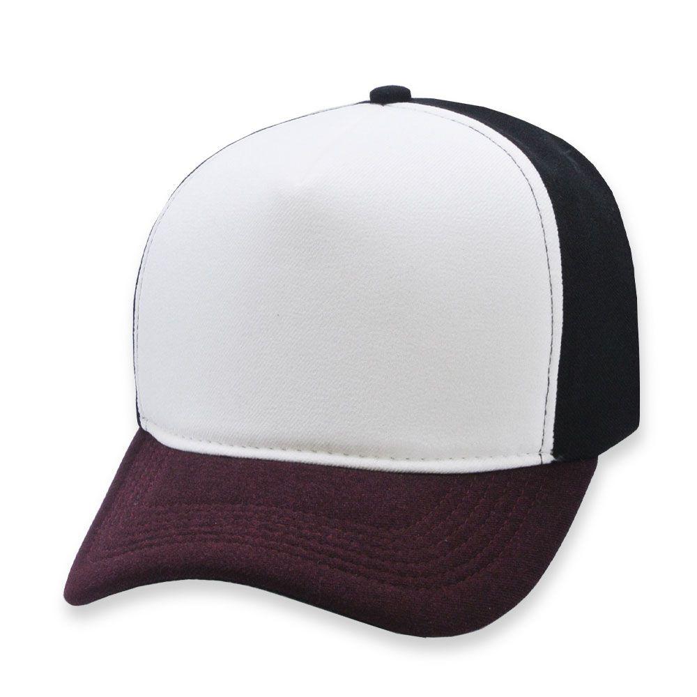 Boné Snapback Aba Curva Classic Hats Tricolor