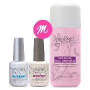 Kit Harmony Top It Off 15ml+ Foundation 15ml+ Gelish Remover