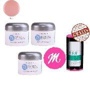 3 Gel T3 Pink + Selante 14ml Gratis Cuccio Star Nail