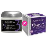 Gel para unhas Led Uv T3 Cuccio Self Levelling 28g