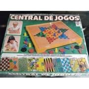Jogo Tabuleiro Central De Jogos Estrela Anos 80 Raro
