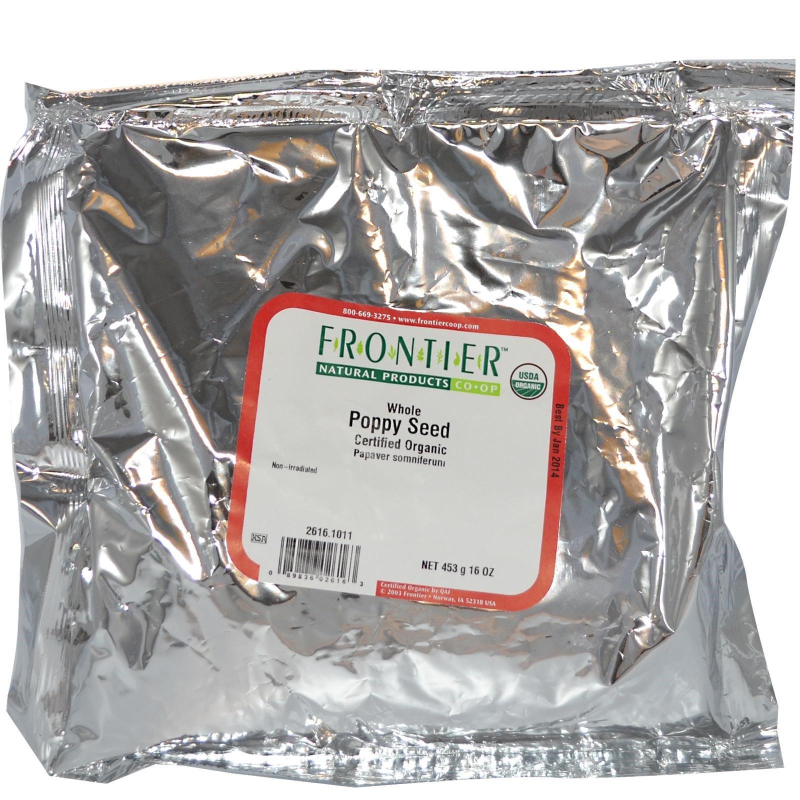 50g Semente De Papoula Organica - Certificado Usda