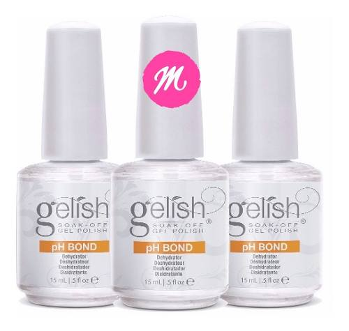Kit C/3 Ph Bond Harmony Gelish Desidratador 15ml