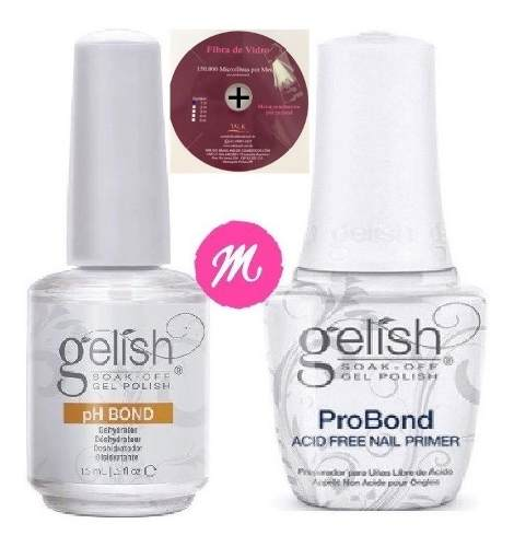 Pro Bond Harmony + Ph Bond 15ml + Fibra Vidro Wek