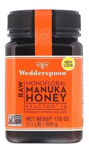 Mel De Manuka K16 = Mgo 550+ Nova Zelandia Manuka Honey 500g