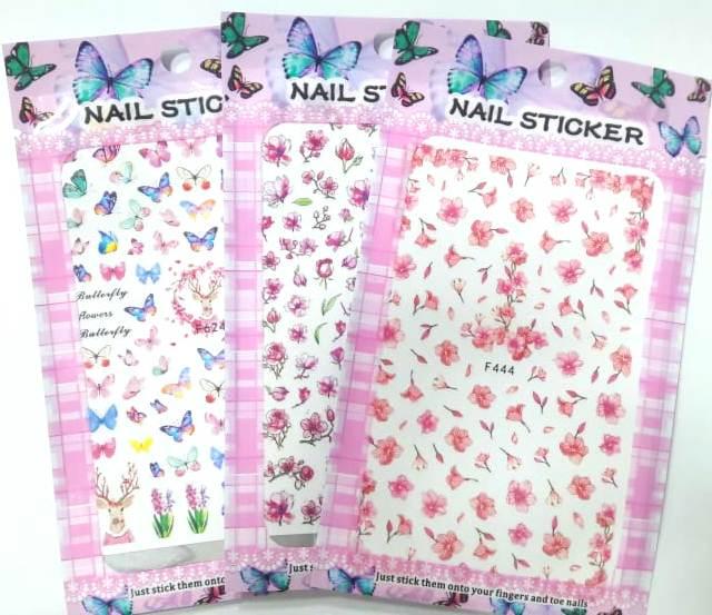 Adesivo Nail Sticker Variados