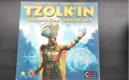 Boardgame Jogo De Tabuleiro Tzolkin O Calendario Maia Ingles