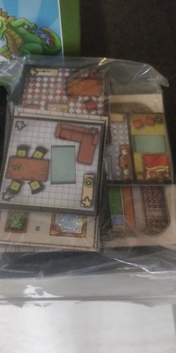Boardgame Jogo Tabuleiro Rampage Terror In Meeple City Novo