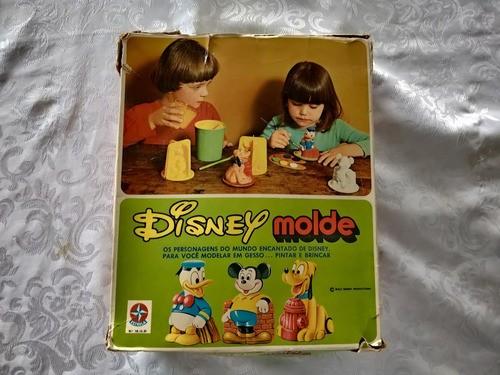 Brinquedo Disney Molde Estrela Anos 80 Raro