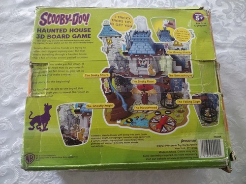 Brinquedo Haunted House Scooby Doo 3d Casa Do Terror Raro