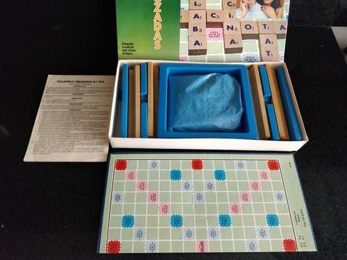 Brinquedo Jogo Palavras Cruzadas Coluna Anos 70 Completo