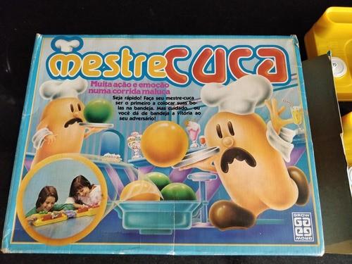 Brinquedo Raro Mestre Cuca Grow 1989 Único Dono Perfeito