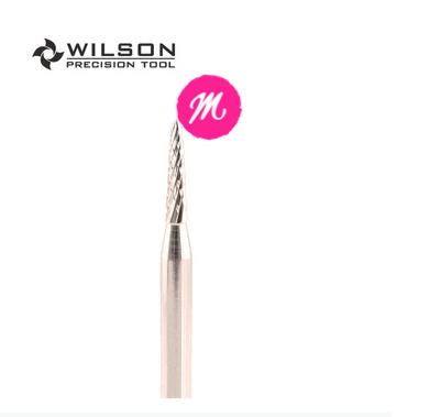 Broca para Cutilagem Tungstenio Wilson 3/32 Sharp Point Bit - M - 45mm - Prata