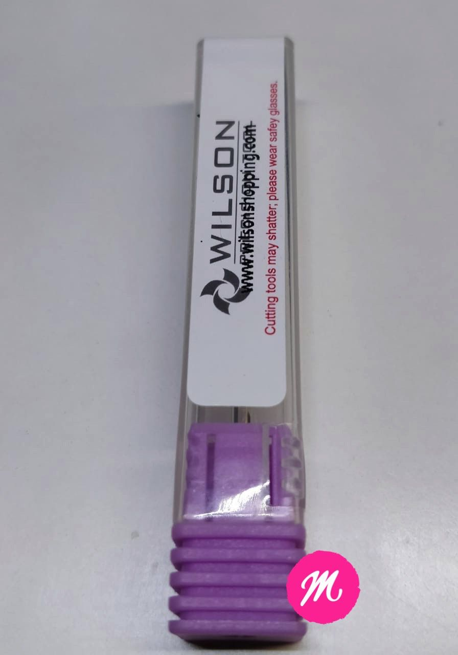 Broca para remoção de Gel Tungstenio Wilson 3/32 Smooth Top Bit - C - Prata