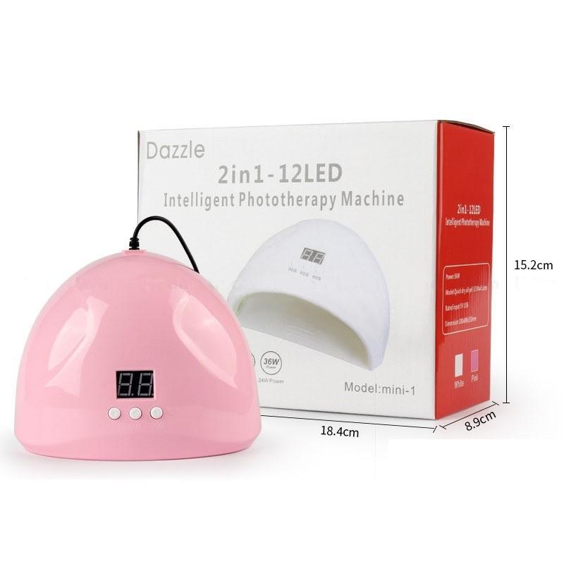 CABINE DIGITAL LED/UV 36W BIVOLT