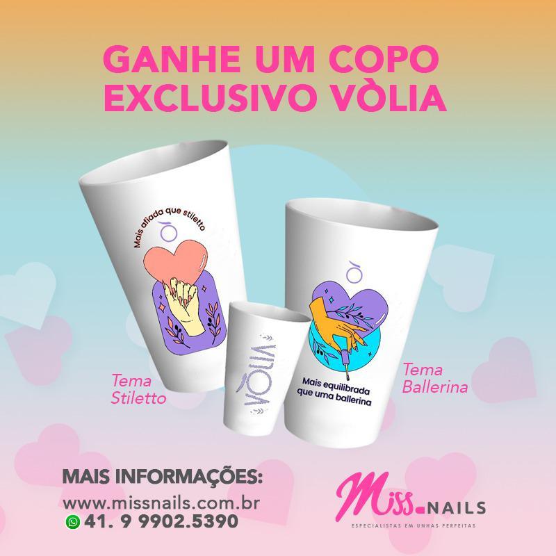 Copo Volia - Promoção Volia 1 gel Classic + 1 gel Hard = 1 copo