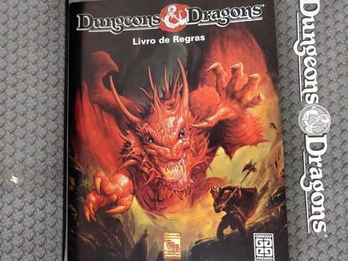 Dungeon And Dragons Ad&d Grow 1991 100% Completo Unico Dono
