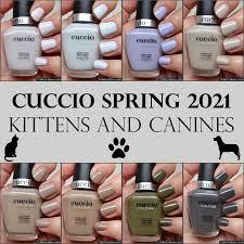 Esmalte Cuccio Colour (normal) - Coleção Kittens & Canines
