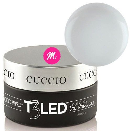 Gel para unhas Led Uv T3 Cuccio Controlled Levelling 28g