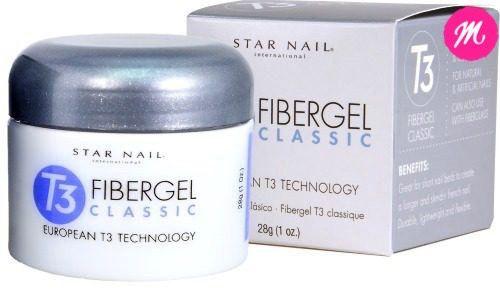 Gel para unhas Star Nail T3 Uv Fibergel 56g Pink
