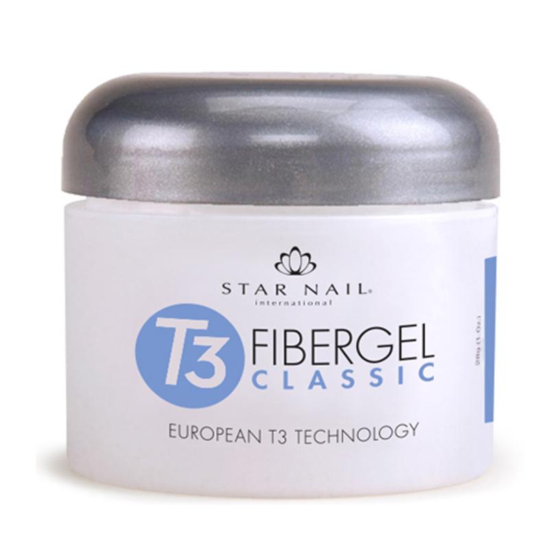 Gel T3 Fibergel / Classic Cuccio Unhas 28g