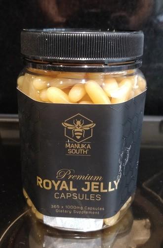 Geléia Real De Manuka 1000mg Manuka Honey 365 Capsulas