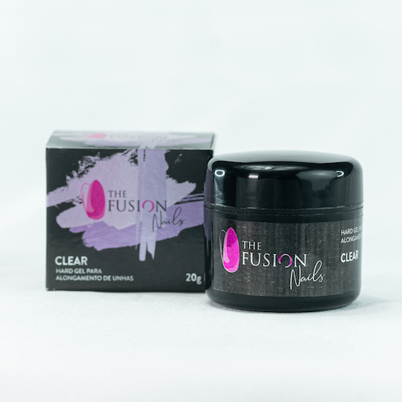 Hard Gel Clear THE FUSION NAILS 20g