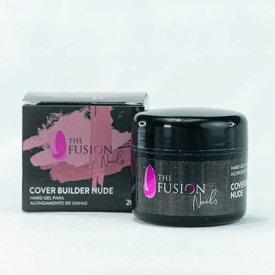 Hard Gel Cover Builder Nude THE FUSION NAILS 20g