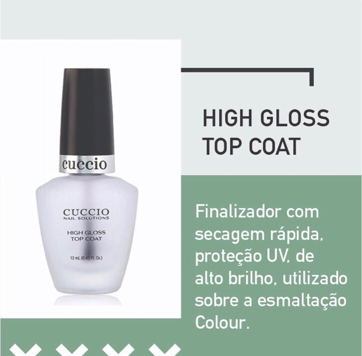 HIGH GLOSS TOP COAT - 13ML (EXTRA BRILHO)