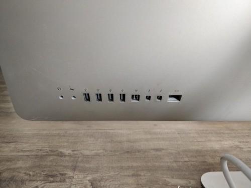 iMac 2011 27 A1312 I7 16gb Ram 1 Gb Video Ssd 120gb Defeito