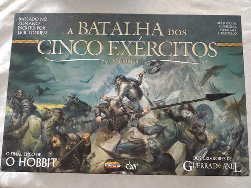 Jogo A Batalha Dos Cinco Exércitos Hobbit Devir Completo