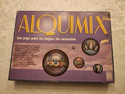 Jogo Alquimix Grow 1990 Rarissimo Completo Perfeito