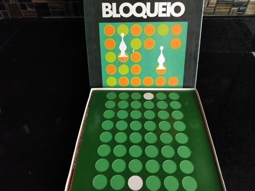 Jogo Brinquedo Antigo Raro Bloqueio Da Cbs Discos Completo