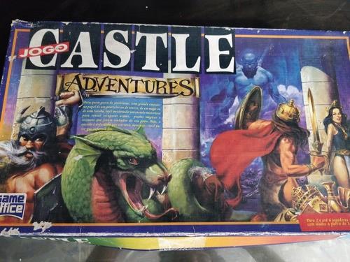 Jogo Castle Adventures Game Office Anos 90 Unico Dono