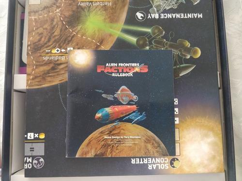 Jogo De Tabuleiro Aliens Frontiers + Expansão Factions