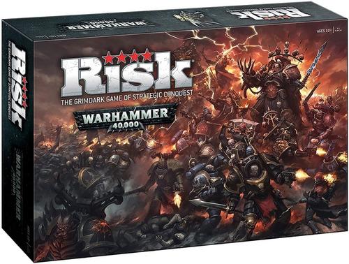 Jogo De Tabuleiro Boardgame Risk War Hammer Lacrado Novo