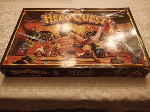 Jogo De Tabuleiro Hero Quest Estrela Novo Lacrado Único Rpg