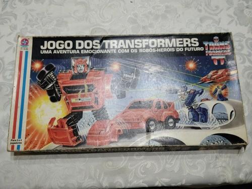 Jogo De Tabuleiro Transformers Estrela - Usado 100% Completo