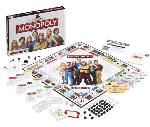 Jogo Monopoly Big Bang Theory Collectors Raro Lacrado