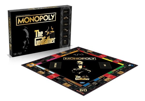 Jogo Monopoly Godfather Collectors Poderoso Chefão