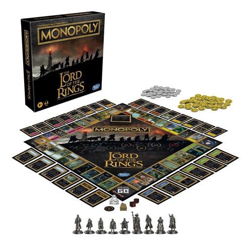 Jogo Monopoly Lord Of The Rings Senhor Dos Anéis Lacrado